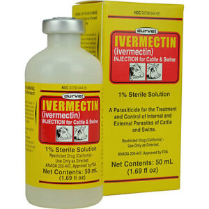 Buy Ivermectin 50ml Injection 1% Sterile Solution Online